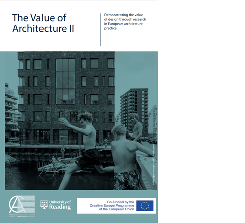 The Value of Architecture II: Demonstrating the value of design through research in European architecture practice